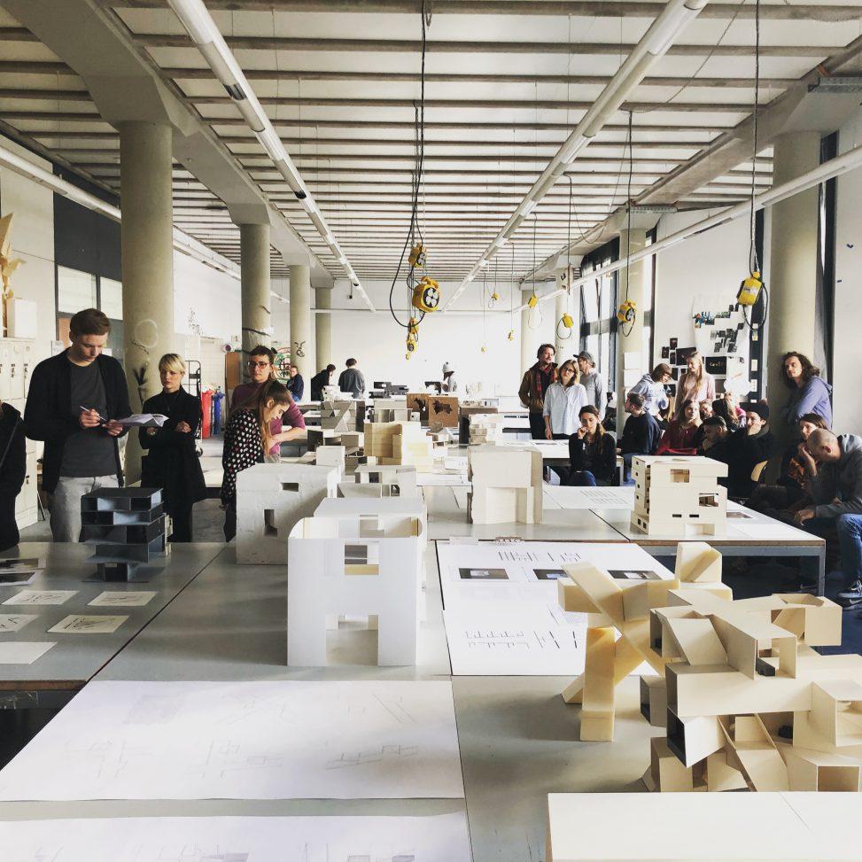 Handlungsfelder der entwurfslehre de co for Technische universitat berlin architektur